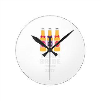 Team Bride Finland 2017 Zk36v Round Clock