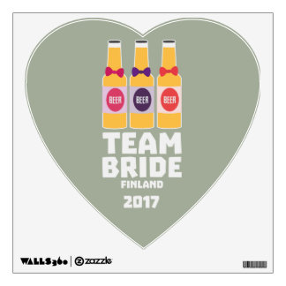 Team Bride Finland 2017 Zk36v Wall Decal