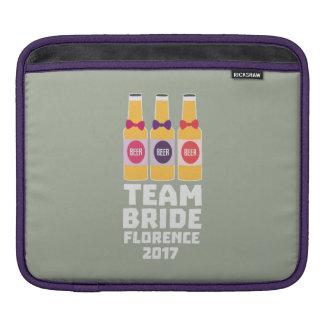 Team Bride Florence 2017 Zhy7k iPad Sleeve