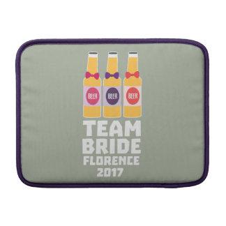 Team Bride Florence 2017 Zhy7k MacBook Sleeve