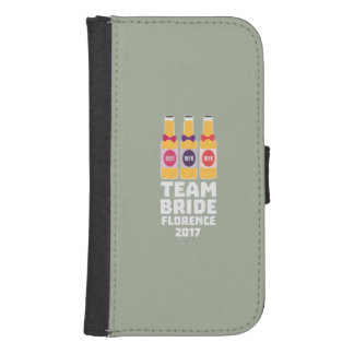 Team Bride Florence 2017 Zhy7k Samsung S4 Wallet Case