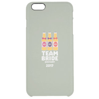 Team Bride Germany 2017 Z36e6 Clear iPhone 6 Plus Case