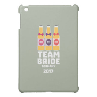 Team Bride Germany 2017 Z36e6 iPad Mini Cover