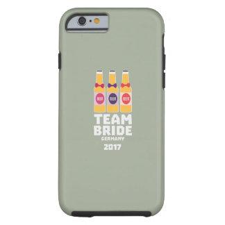 Team Bride Germany 2017 Z36e6 Tough iPhone 6 Case