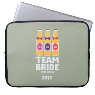 Team Bride Great Britain 2017 Zqqh7 Laptop Computer Sleeves