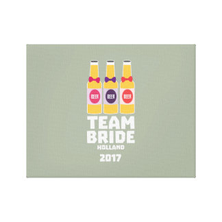 Team Bride Holland 2017 Z0on9 Canvas Print