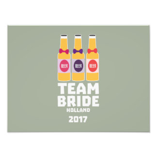 Team Bride Holland 2017 Z0on9 Photo Print