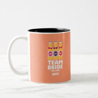 Team Bride Holland 2017 Z0on9 Two-Tone Coffee Mug