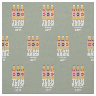 Team Bride Hungary 2017 Z70qk Fabric