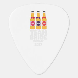 Team Bride Hungary 2017 Z70qk Guitar Pick