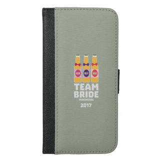 Team Bride Indonesia 2017 Z2j8u iPhone 6/6s Plus Wallet Case