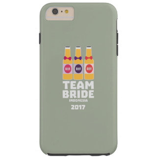 Team Bride Indonesia 2017 Z2j8u Tough iPhone 6 Plus Case