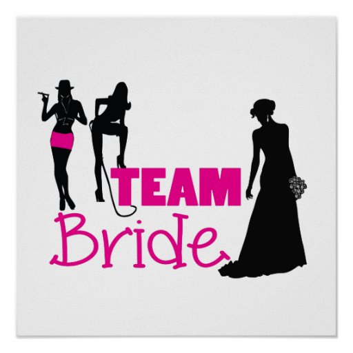 Team Bride - maid of honour Poster