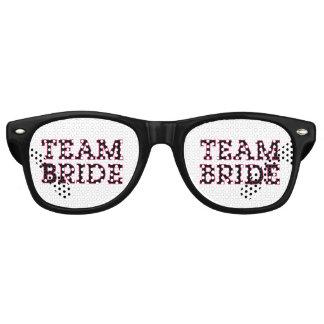 Team Bride Outline Retro Sunglasses