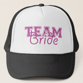 Team Bride - Perfectly Plum Trucker Hat