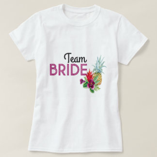 Team Bride Personalised Party PINEAPPLE Aloha Top