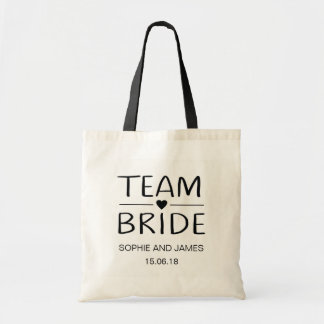 Team Bride Personalised Tote Bag