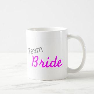 Team Bride (PInk) Classic White Coffee Mug