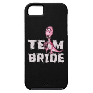 Team Bride Pink Dinosaur Bridal Shower iPhone 5 Cover
