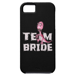 Team Bride Pink Dinosaur Bridal Shower iPhone 5 Covers