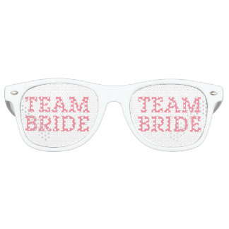 Team Bride Pink Party Shades