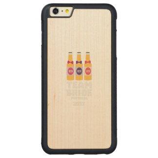 Team Bride Portugal 2017 Zg0kx Carved Maple iPhone 6 Plus Bumper Case