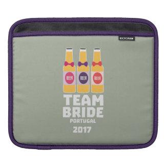 Team Bride Portugal 2017 Zg0kx iPad Sleeve