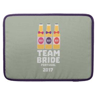 Team Bride Portugal 2017 Zg0kx Sleeve For MacBook Pro