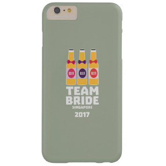 Team Bride Singapore 2017 Z4gkk Barely There iPhone 6 Plus Case