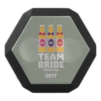 Team Bride Singapore 2017 Z4gkk Black Bluetooth Speaker