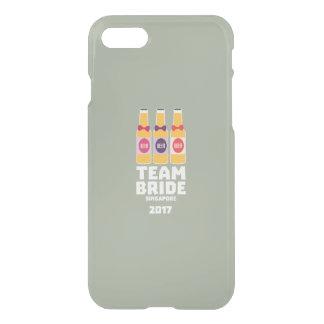 Team Bride Singapore 2017 Z4gkk iPhone 8/7 Case