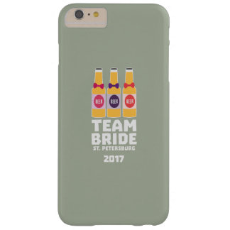 Team Bride St. Petersburg 2017 Zuv92 Barely There iPhone 6 Plus Case