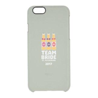 Team Bride St. Petersburg 2017 Zuv92 Clear iPhone 6/6S Case