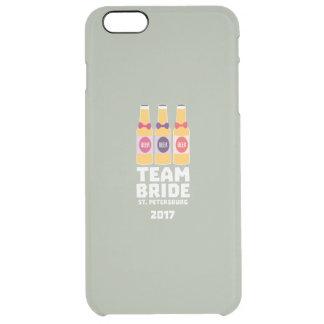 Team Bride St. Petersburg 2017 Zuv92 Clear iPhone 6 Plus Case