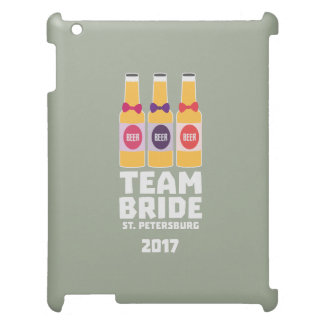 Team Bride St. Petersburg 2017 Zuv92 iPad Cover
