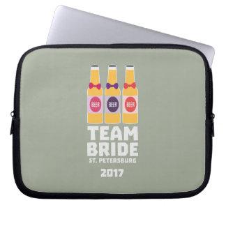 Team Bride St. Petersburg 2017 Zuv92 Laptop Sleeve