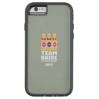Team Bride St. Petersburg 2017 Zuv92 Tough Xtreme iPhone 6 Case