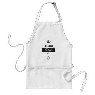 Team Bride Standard Apron