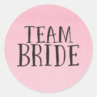 Team Bride Stickers