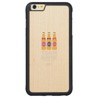 Team Bride Switzerland 2017 Ztd9s Carved Maple iPhone 6 Plus Bumper Case