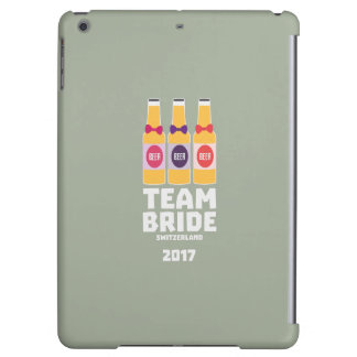 Team Bride Switzerland 2017 Ztd9s iPad Air Case