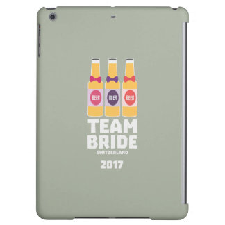 Team Bride Switzerland 2017 Ztd9s iPad Air Cases