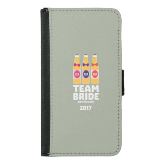 Team Bride Switzerland 2017 Ztd9s Samsung Galaxy S5 Wallet Case