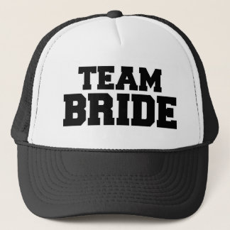 Team bride trucker hat