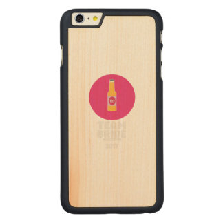 Team bride Vancouver 2017 Henparty Zkj6h Carved Maple iPhone 6 Plus Case