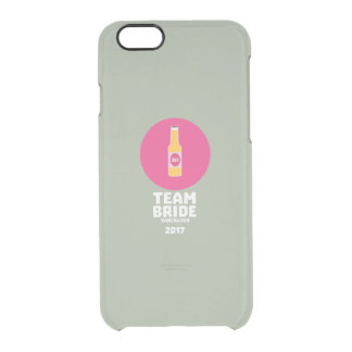 Team bride Vancouver 2017 Henparty Zkj6h Clear iPhone 6/6S Case