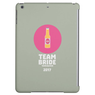 Team bride Vancouver 2017 Henparty Zkj6h iPad Air Covers