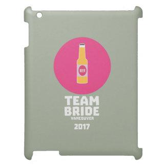 Team bride Vancouver 2017 Henparty Zkj6h iPad Case