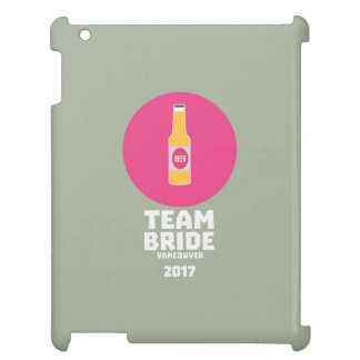 Team bride Vancouver 2017 Henparty Zkj6h iPad Cover