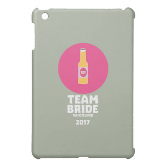Team bride Vancouver 2017 Henparty Zkj6h iPad Mini Cover